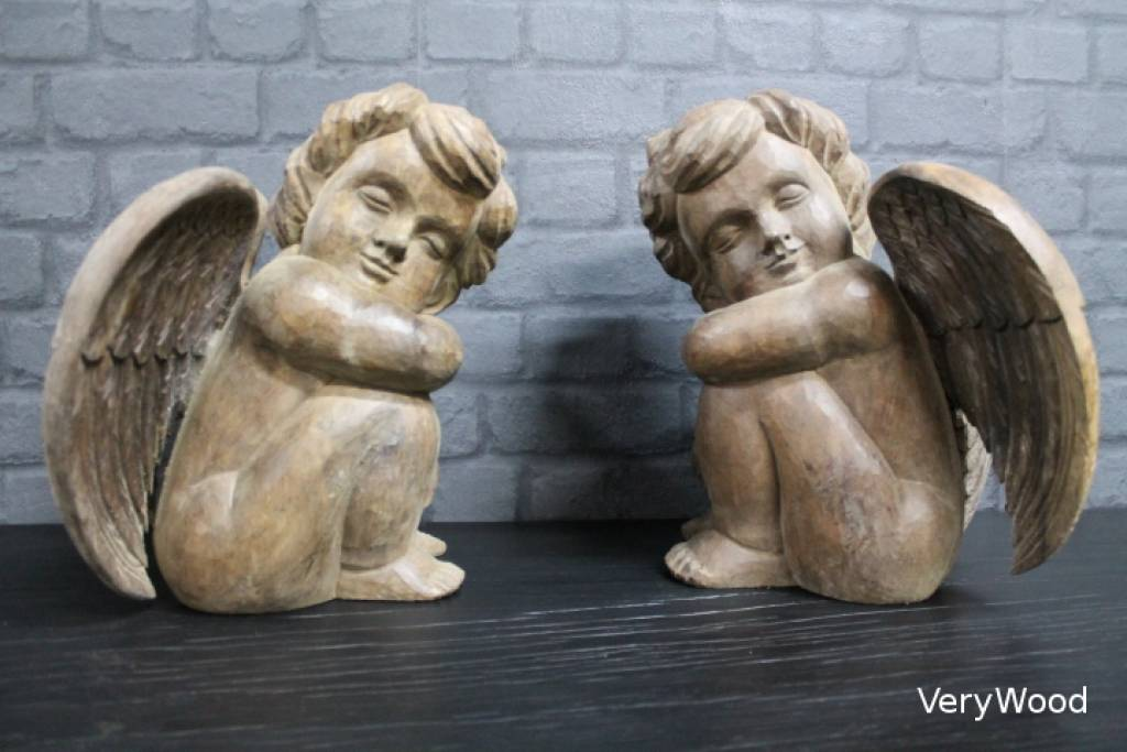 https://www.verywoodeco.com / Seated Angel