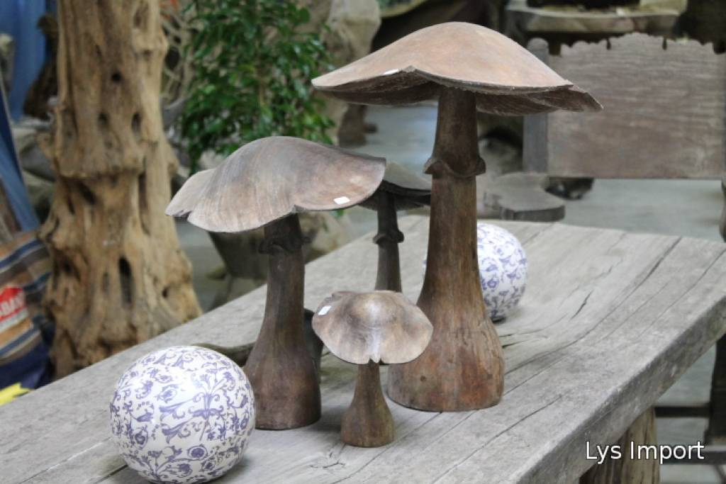 lys deco cot jardin champignons. Black Bedroom Furniture Sets. Home Design Ideas