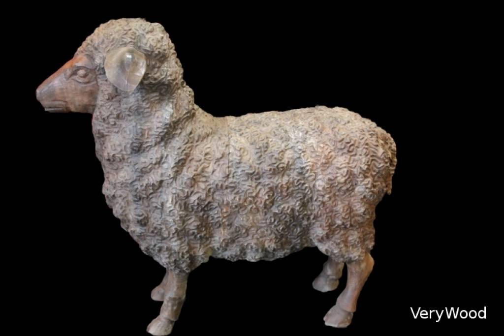 Lys deco cot jardin mouton for Mouton deco jardin